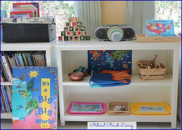 20+ Ways to Teach Montessori Geography Kids Will Love, Montessori Activities, Montessori Geography Shelf, Montessori Preschool, Montessori Toddler, Montessori Curriculum