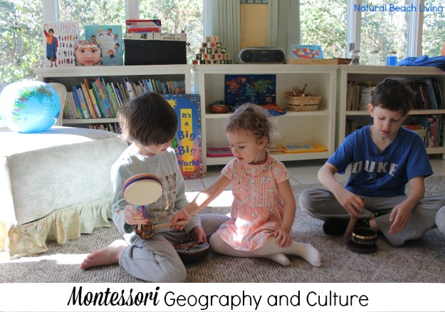 Montessori geography and culture lessons, Music, Instruments,Geography for all ages, Homeschool room, books, activities for kids, www.naturalbeachliving.com