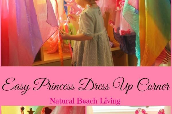 Easy Princess Dress Up Corner