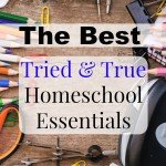 The Best Essentials for Homeschooling