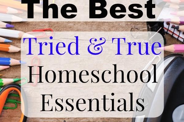 The Best Essentials for Homeschooling