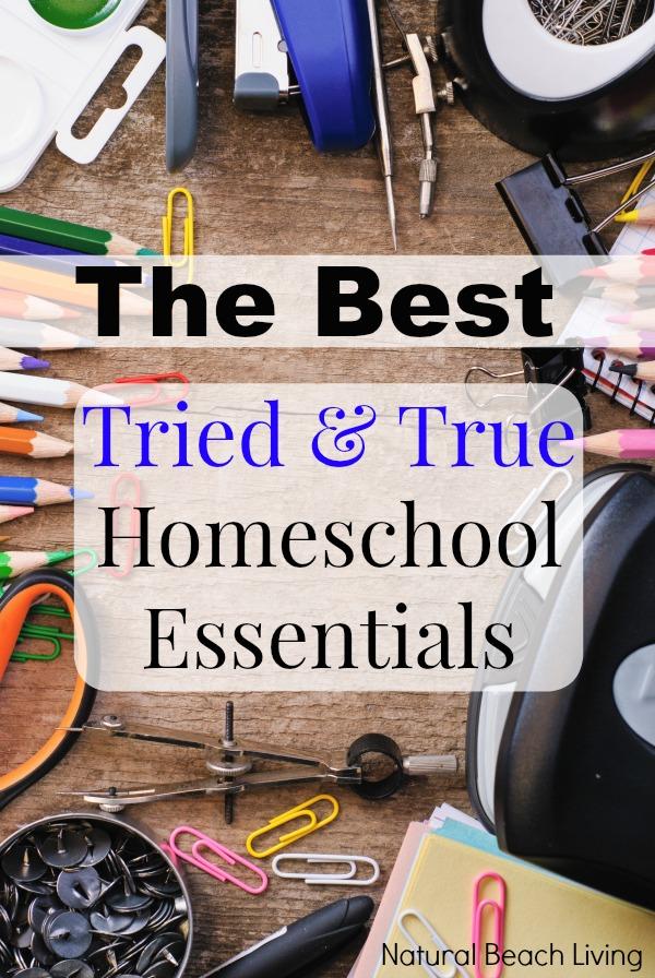 homeschool essentials1