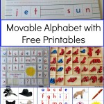 Montessori Movable Alphabet (Free Printables)