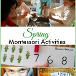 The Ultimate list of Spring Montessori Activities