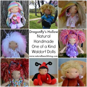 Natural Handmade Waldorf Dolls