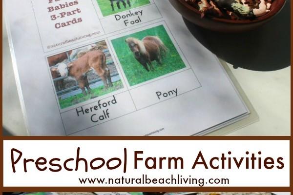 The Best Montessori Preschool Farm Activities (Free Printables)