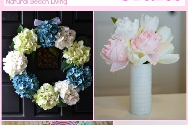 Spring Flower Crafts (Linky 16)