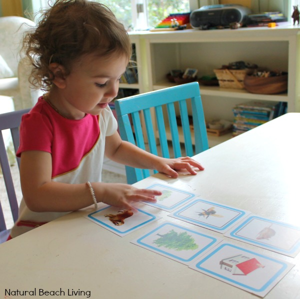 Easy ways for you to teach early reading skills with hands on learning, books, games, tips, Montessori lessons, confident kids, www.naturalbeachliving.com
