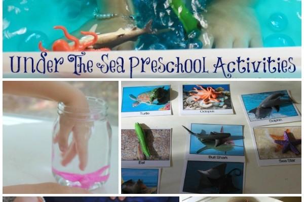 Under The Sea Preschool Activities