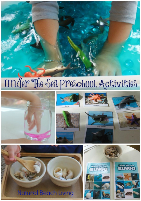 35+ Best Summer Preschool Themes and Lesson Plans, Free Printables, Preschool Activities and Ideas for the Summer, Summer Camp, Beach, Ocean, Under the Sea and More
