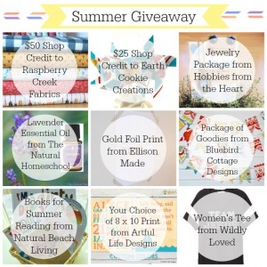It's Almost Summer Giveaway