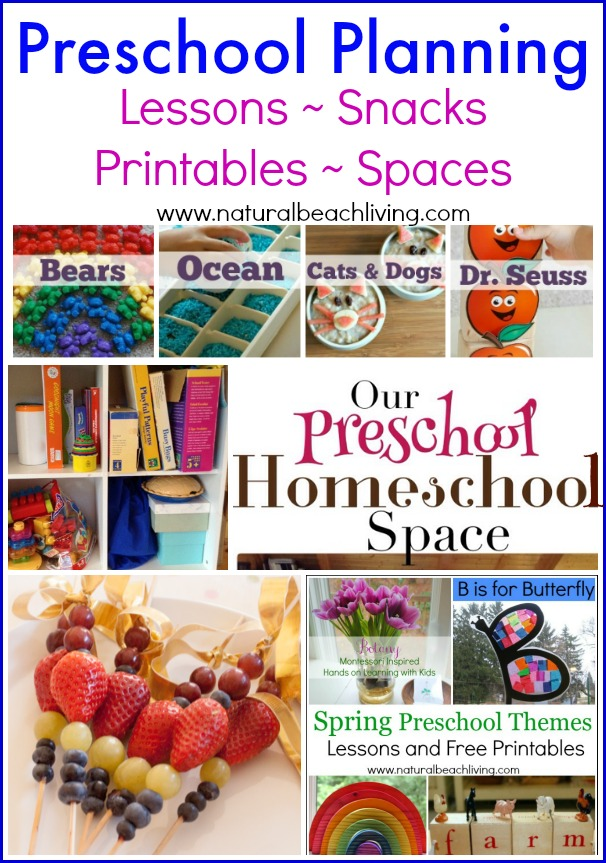 Preschool Planning ideas, Here are some wonderful resources for you whether you are just beginning or already a pro. Snacks, lessons, themes,Schooling rooms