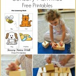 Montessori Sensory Activities (Free Printables)