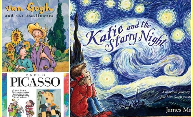 The Best Art Books for Kids