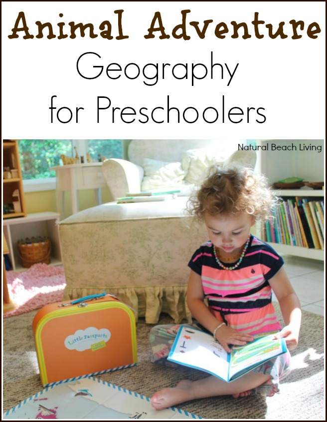 It's an animal adventure, Crafts, Mapping and anything that has to do with Geography for preschoolers is fun! Little Passports and Early Explorers learning