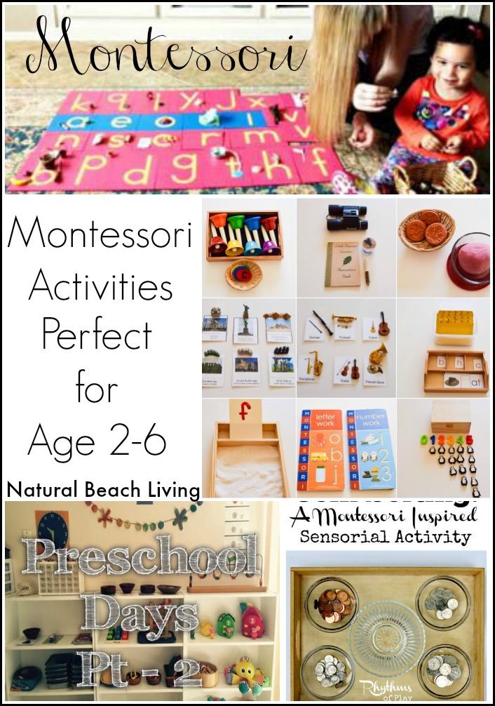 Montessori Inspired Activities