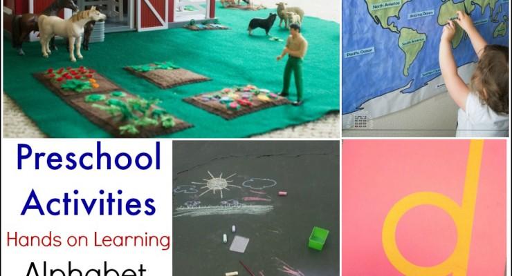 Hands on Learning Preschool Activities (Linky 23)