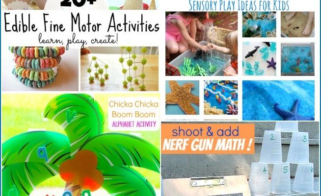 Fun Summer Activities for Preschoolers (Linky 24)
