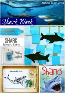 Shark Week for Kids ~Free Printables