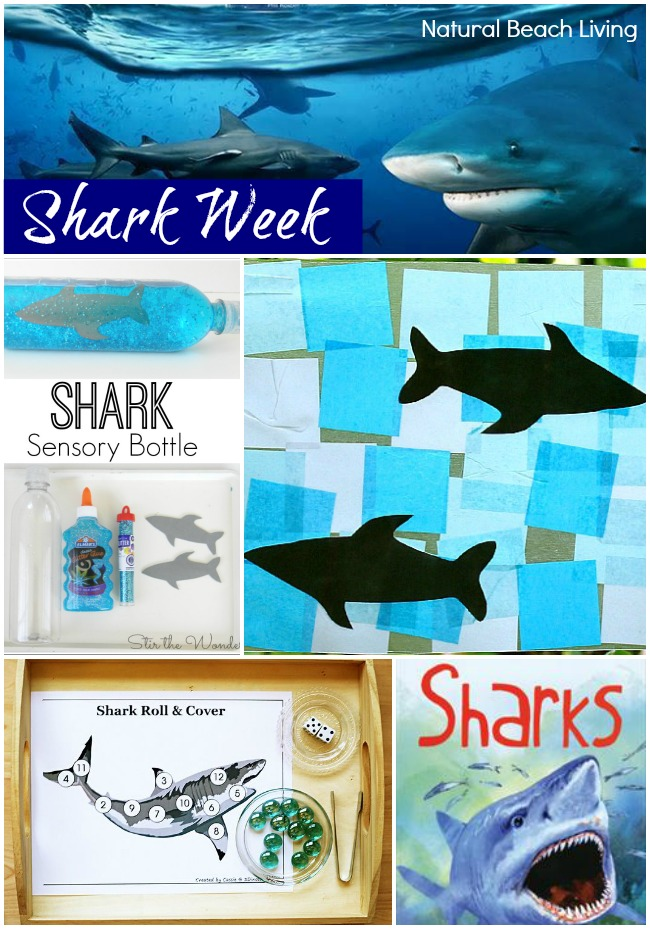 Shark Week for Kids ~Free Printables