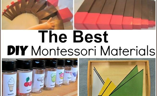 The Best DIY Montessori Materials