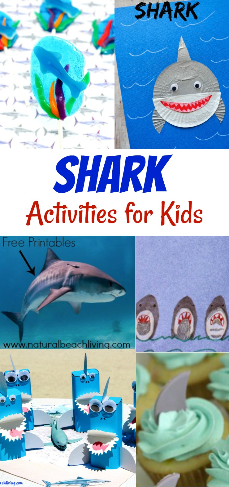 Amazing Shark Activities for Kids (Free Printables)