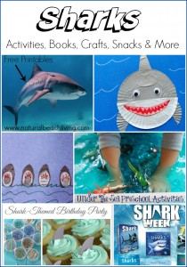 Awesome Shark Activities, Crafts, Books, and more (Free Printables)