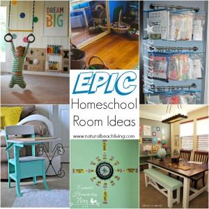 10+ Epic Homeschool Room Ideas