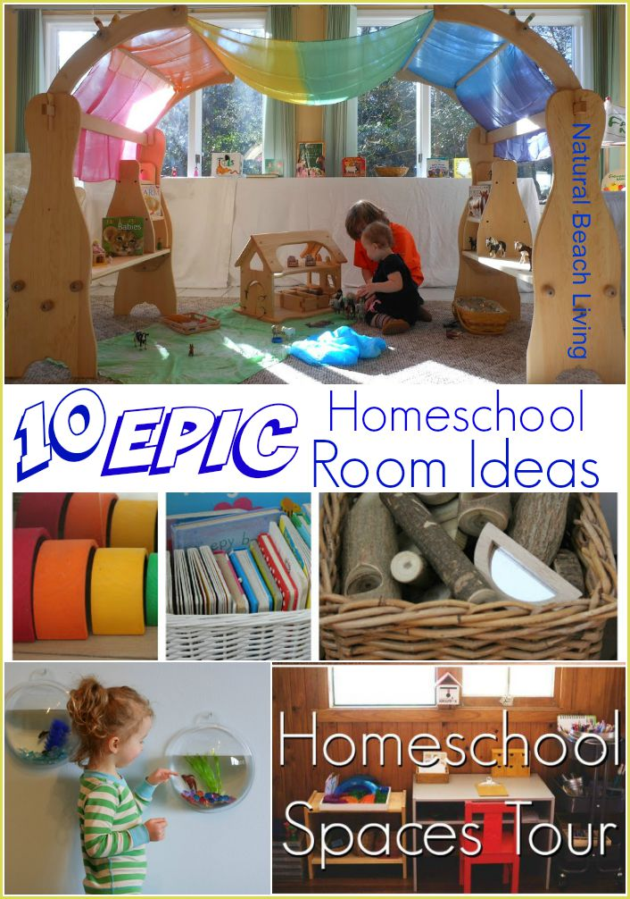 Epic Homeschool Room Ideas Natural Beach Living