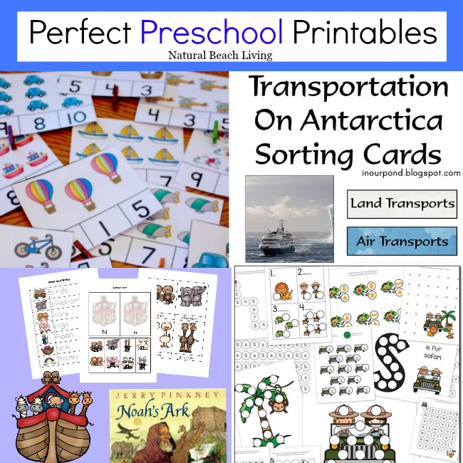 Perfect Preschool Printables (Linky 26)