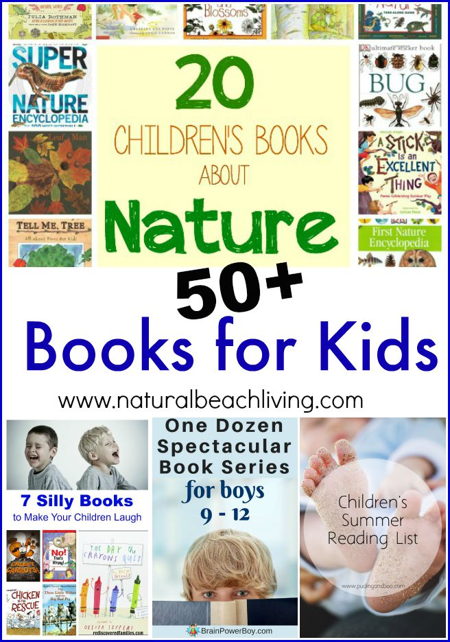 50+ great books for kids, Nature books, silly books, boys and girls series, summer reading lists and more. You'll find great new books for your children