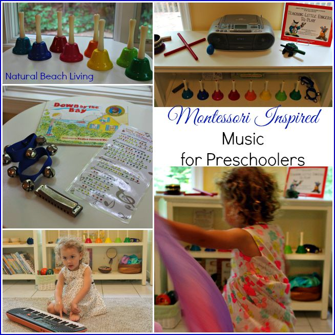 Montessori Inspired Music for Preschoolers (Free Printables)