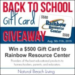 Homeschool Back to School Giveaway