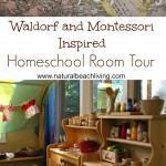 Montessori & Waldorf Inspired Homeschool Room