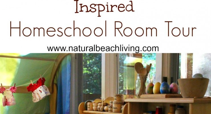 Montessori & Waldorf Inspired Homeschool Room