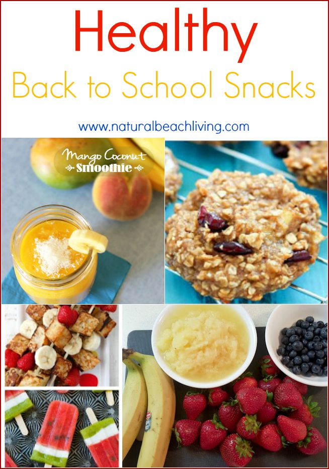Healthy Back to School Snacks You'll Want to Make