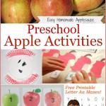 Preschool Apple Activities (Linky 32)