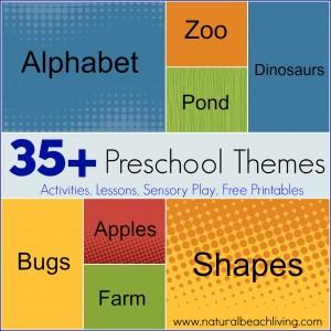 35+ Fun-Filled Preschool Themes