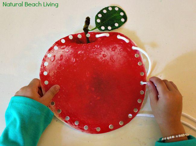 Apple Craft Activities For Preschoolers