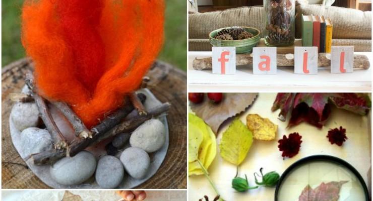 Fabulous Fall Nature Table Ideas (Linky 35)