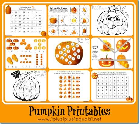 preschool pumpkin printables fall preschool activities and free printables 254