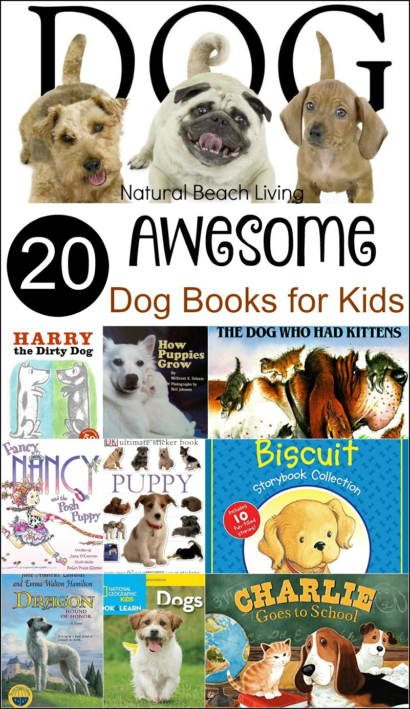 20 awesome dog books for kids natural beach living