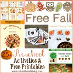 Fall Preschool Activities and Free Printables