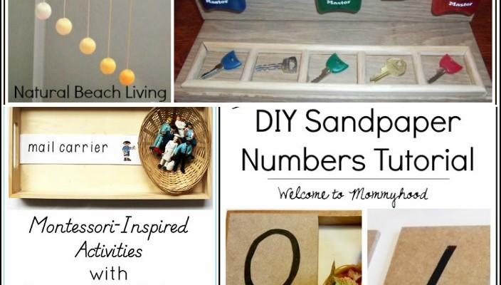 Montessori Inspired Activities and DIY Materials (Linky 39)