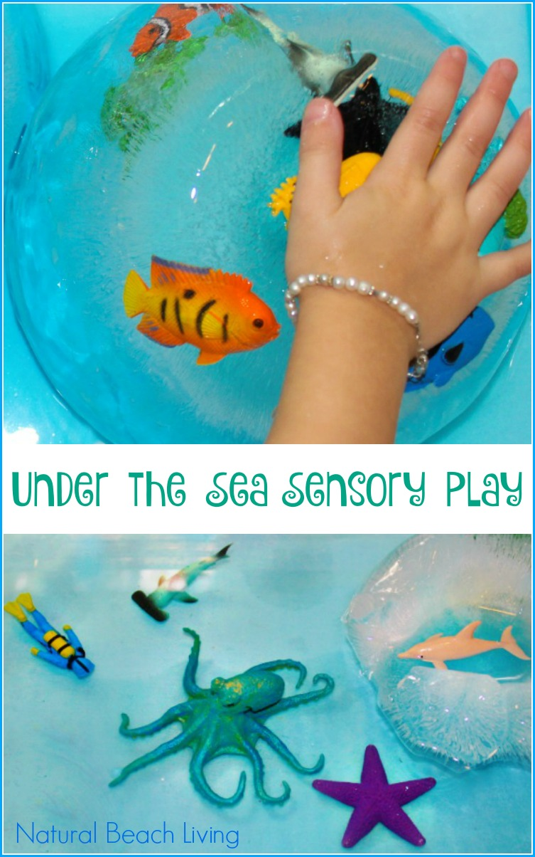 Under the Sea Themed Activities, Amazing Frozen Sensory Play, Ocean sensory activities and water play, Perfect Theme for preschool  AWESOME kids activities