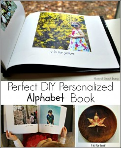 The Perfect DIY Personalized Alphabet Book