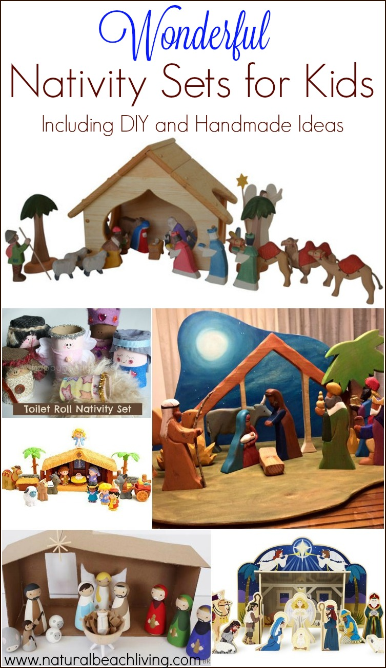 The Best Nativity Sets for Kids