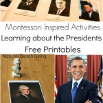 Learning about the Presidents with Montessori Activities (Free Printables)