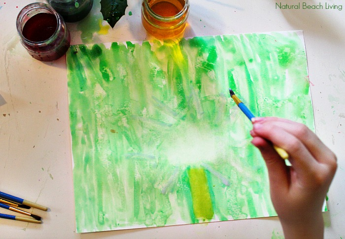 Beautiful Art Inspired by Nature with FREE PRINTABLES, Hands on learning, natural materials, and artistic activities for Montessori Fine Arts