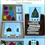 Montessori Inspired Christmas Activities for Preschoolers
